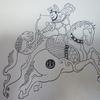 法隆寺獅子狩紋錦は安禄山を描いたという仮説1