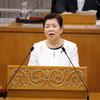 国言いなりの県民に冷たい県政の姿がくっきり、宮本県議の代表質問