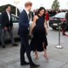 メハン·マークルがハリー王子との初の公開イベントでアントニオ·ベラディのドレスを飾る