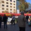 ザグレブの街中を散策