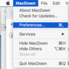 MacDownを使っていて下線、打ち消し線が反映されない問題の解決法