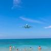 プーケット島暮らし・学校へ迎えに行く前にちょこっと飛行機撮影