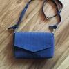 お財布ポーチ付きのミニショルダーバッグを作りました~パターンレーベル「ウォレットバッグ」より