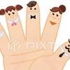 小指を曲げようとすると薬指もつられて動く理由と指の名前の由来!