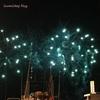 【独立記念花火】アラモアナビーチパーク【ハワイ 花火】