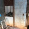 余った木材で壁を作る