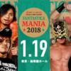 1.19 新日本プロレス Fantastica Mania 後楽園大会 ツイート統計