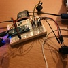 自作キーボード進捗:キーマトリックス、プルアップ抵抗の対応