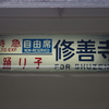 伊豆箱根鉄道駿豆線の裏白きっぷ
