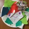 【2歳4歳育児】12月壁面製作①サンタリース【季節を感じる家庭学習】