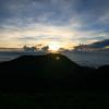 【九重山】朝駆け山行!雲海の上から御来光