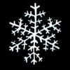 雪の結晶 のイラスト