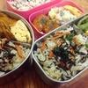 【1食91円】ひじきご飯とふんわり甘口な卵焼きのお弁当 ~ひじきの煮物とご飯を混ぜるだけで簡単お手軽~【パパ節約弁当レシピ】