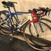 【ロードバイク】シフト、ブレーキワイヤー、バーテープ交換。ついでにハブの分解まで