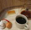 今回のコーヒーはフルーティーブラジル~お茶請けはリッコイタリアンプリン~