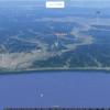 授業で使えるかも?:Googleマップで海岸線を3Dで見る