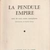 :FRANZ ELLENS『LA PENDULE EMPIRE suivi de trois contes exemplaires』(フランツ・エランス『帝政様式の置時計と3つの教訓的短篇』)