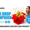 ロナウジーニョ ICO(RSC)エアドロップ※ブックメーカー市場を狙うロナウジーニョサッカーコイン