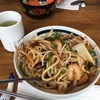 Finchley Road の Udon Cafe で焼うどんを食す
