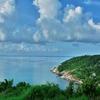 山の上の「360℃スリーシックスティーバー(Three Sixty Bar)」からマ島を眺め~パンガン島の名物椰子の木からのサンセットを!!Vol.4