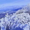 赤城 霧氷の回廊を歩く黒檜山