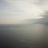 自宅でのテレワークを終えて、夕暮れ時に近所の海でシュノーケル(あとドローンも…)