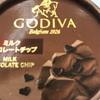 GODIVA ミルクチョコレートチップ だよ