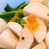 オレンジ薫るあっさり大根と胡瓜の洋風漬け物