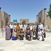 「中央アジア文化交流ミッション」ウズベキスタン・サマルカンドでの一日