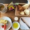 日曜の朝は、銀座のホテルで朝食を