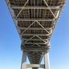 東京港連絡橋レインボーブリッジを子供と歩いて渡る(前編)