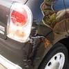 アルトラパンショコラの事故修理(バックパネル板金ほか)の修理料金比較と写真
