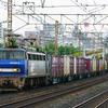 9月11日撮影 東海道線 平塚~大磯間 貨物列車 ① 1155ㇾ 5075ㇾ