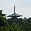 法輪寺/三重塔 幸田文の勧進があってこその再建です。江戸っ子が斑鳩三塔の景観を取り戻しました。