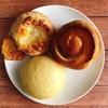 【アンデルセン】エトランゼ、チーズロール、陳さんの蒸しパン