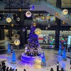 大阪市内でクリスマス気分を味わってきました