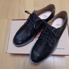 REDWING 101 POSTMAN OXFORD BLACK CHAPARRAL