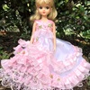 ピンクのドットのドレス   その2