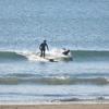 26日土曜、すねサイズの鵠沼で1時間だけサーフィン。