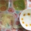 離乳食初期 ごっくん20日目 野菜スープ