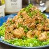 【レシピ】鶏むね肉と春キャベツの♬かんたん油淋鶏♬
