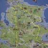 壱岐の島大まかに一周