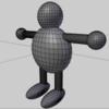 【初心者向け】Blender キャラクターのアニメーション作成方法 その1【アーマチュア作成~ウェイト割り当て】