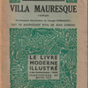 Jean Lorrain『VILLA MAURESQUE』(ジャン・ロラン『ムーア風別荘』)