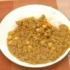 ひよこ豆のポークキーマカレー