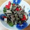 今日の料理「夏野菜の洋風いため」などを作ってみました。