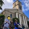総勢6人!家族旅行inハワイ♡サイクリングツアー・カワイアハオ教会〜ハワイ州会議事堂編
