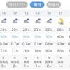 明日は平日雨アジング?