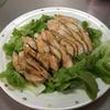 【食事】 低温調理で胸肉をしっとりに