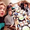 日本のコンサートに終え、フンフン、団体で食事会に公開した'防弾少年団'ジミン